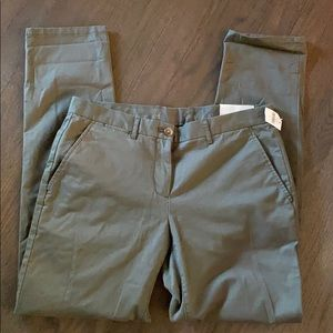 Gap Broken-In Straight Stretch Chino Olive size S